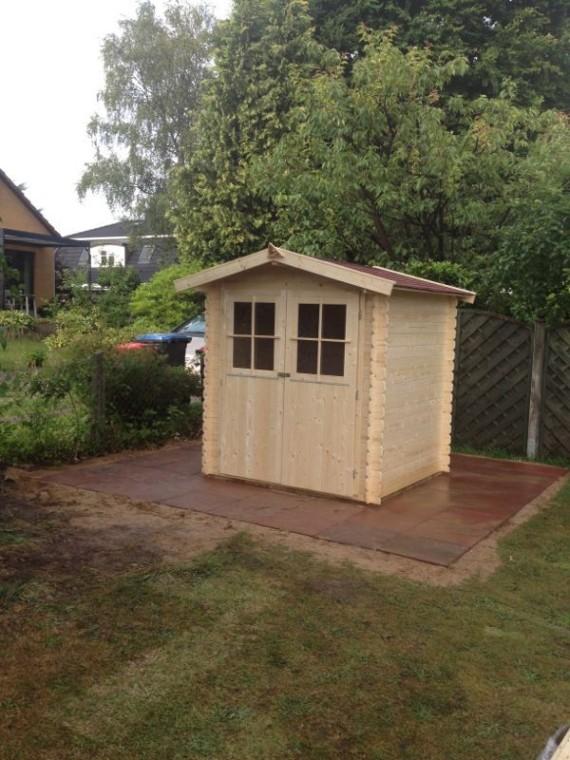gartenhaus fundament gie en 06 12 14. Black Bedroom Furniture Sets. Home Design Ideas