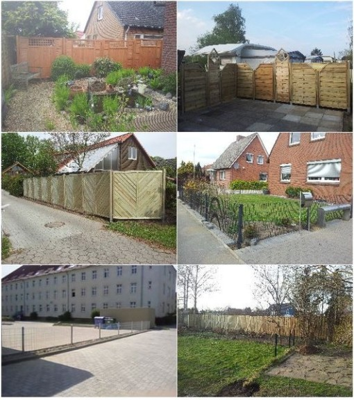 Holzbau Zaun, Zaunbau Ahrensbök, HGB Holzkonstruktion
