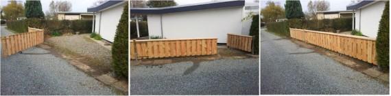 Lärchenholz Tor, Toranlage Holzbau HGB, Holz und Gartenbau