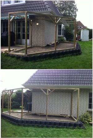 Katzenfreilauf Konstruktion, Holzbau Planung, Ahrensbök Gartengestaltung